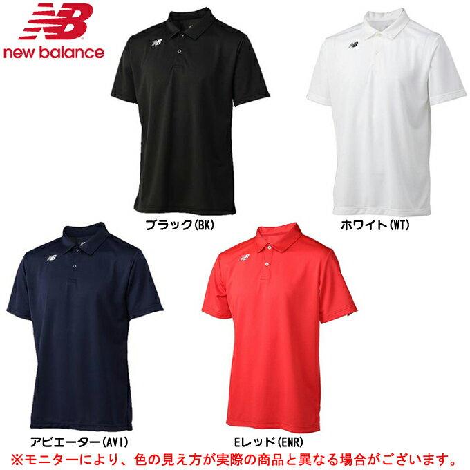 new balance(ニューバランス)ベーシックショートスリーブポロシャツ(JMTT6141)(テニス/スポーツ/半袖/吸汗速乾/ランニング/男性用/メンズ)