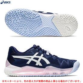 ASICS(アシックス)GEL-RESOLUTION 8 OC ゲルレゾリューション 8 OC(1042A071)(テニス/オムニ・クレーコート用/砂入り人工芝/テニスシューズ/靴/女性用/レディース)