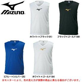 MIZUNO(ミズノ)ノースリーブインナーシャツ(P2MA8090)(サッカー/フットボール/アンダーシャツ/トレーニング/ランニング/スポーツ/男女兼用/ユニセックス)