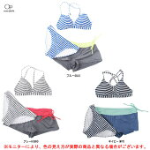OceanPacific(オーシャンパシフィック)OPレディースパンツ付3点セット(526813)(水着/マリンスポーツ/レジャー/プール/日焼け防止/海水浴/女性用/レディース)