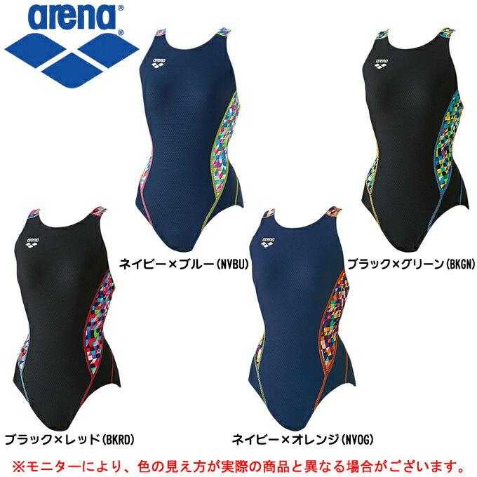 arena(アリーナ)セーフリーバック(ARN7076W)(FINA承認モデル/水泳/プール/競泳水着/スイムウェア/女性用/レディース)