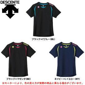 DESCENTE(デサント)レディース 半袖プラクティスシャツ(DVB5722W)(バレーボール/トレーニング/ウェア/Tシャツ/吸汗速乾/女性用/レディース)
