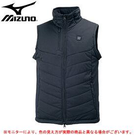 MIZUNO(ミズノ)サーモブリッドベスト(32ME7665)(BREATH THERMO/スポーツ/トレーニング/カジュアル/アウター/防寒/男性用/メンズ)