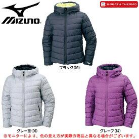 MIZUNO(ミズノ)テックフィルジャケット(32ME7850)(BREATH THERMO/スポーツ/トレーニング/カジュアル/アウター/防寒/女性用/レディース)