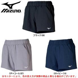 MIZUNO(ミズノ)W's ショートクロスパンツ(32MF6811)(スポーツ/トレーニング/ランニング/プラクティス/ショートパンツ/女性用/レディース)