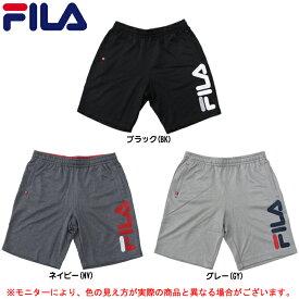 FILA(フィラ)杢リバー ハーフパンツ(416334)(スポーツ/ランニング/ウォーキング/プラクティスパンツ/トレーニング/半ズボン/カジュアル/男性用/メンズ)