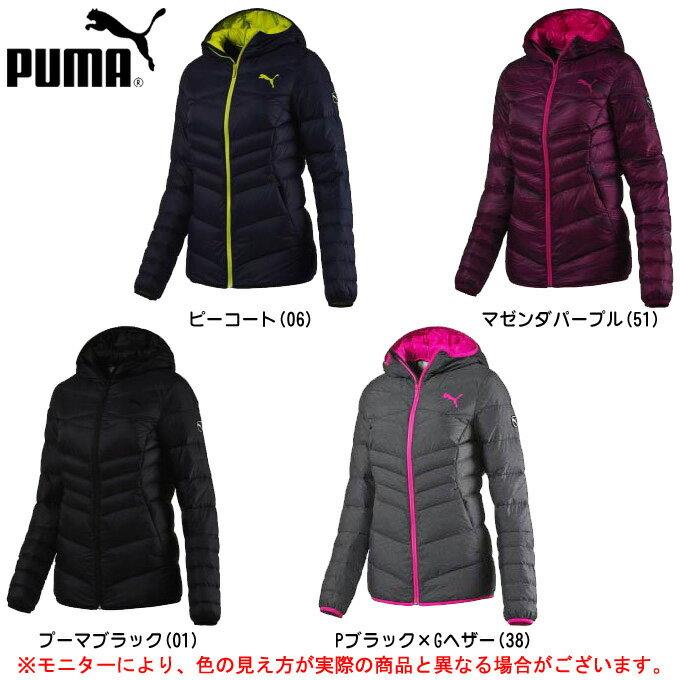 PUMA(プーマ)LITE フーデッドダウンジャケット(590451)(カジュアル/スポーツ/ダウン/アウター/防寒/女性用/レディース)