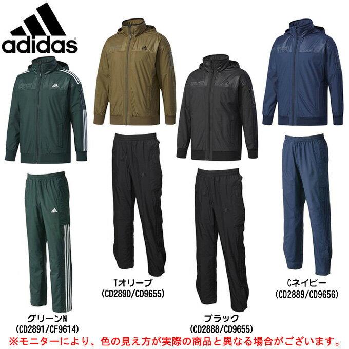 adidas(アディダス)24/7 ウインドブレーカー 上下セット(DUQ97/DUQ98)(スポーツ/トレーニング/ジャケット/パンツ/防風/保温/裏起毛/男性用/メンズ)