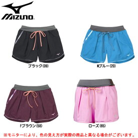 MIZUNO(ミズノ)ランニングパンツ(J2MB5701)(スポーツ/ジョギング/マラソン/ショートパンツ/プラクティスパンツ/女性用/レディース)