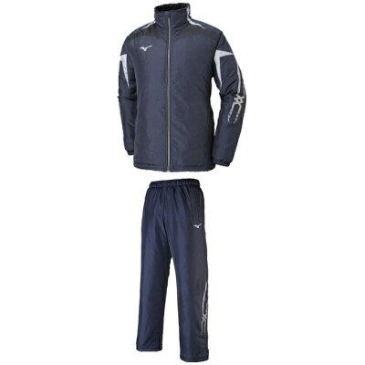 MIZUNO(ミズノ)ブレスサーモ中綿ウォーマーシャツパンツ上下セット(32JE8530/32JF8530)(トレーニング/ウインドブレーカー/ジャケット/パンツ/男性用/メンズ/ユニセックス)