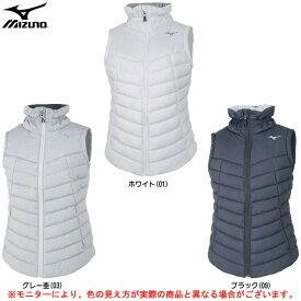 MIZUNO(ミズノ)ブレスサーモ テックフィルベスト(32ME8851)(スポーツ/トレーニング/ウェア/カジュアル/アウター/防寒/女性用/レディース)