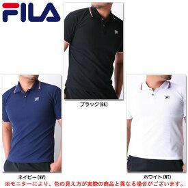 FILA(フィラ)半袖ポロシャツ(418305)(スポーツ/トレーニング/フィットネス/カジュアル/男性用/メンズ)