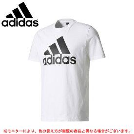 adidas(アディダス)M ESSENTIALS リニアロゴ 半袖Tシャツ(BVC61)(スポーツ/トレーニング/ランニング/半袖/男性用/メンズ)