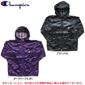 Champion(チャンピオン)ウインドパーカー(CJ9423)(スポーツ/ランニング/ジョギング/裏地なし/1枚物/アウター/軽量/男性用/メンズ)