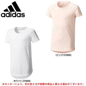 adidas(アディダス)ガールズ ADIDAS Z.N.E. Tシャツ(DSF56)(スポーツ/トレーニング/ウェア/シャツ/女児/子供用/ガールズ/キッズ/ジュニア)