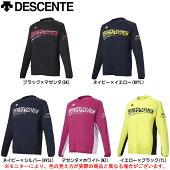 DESCENTE(デサント)長袖プラクティスシャツ(DVUMJB53)(バレー/バレーボール/シャツ/ウェア/男女兼用/ユニセックス)