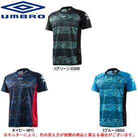UMBRO(アンブロ)グラフィックプリント ショートスリーブシャツ(UCA7768)(サッカー/フットサル/フットボール/トレーニング/半袖/Tシャツ/吸汗速乾/男性用/メンズ)