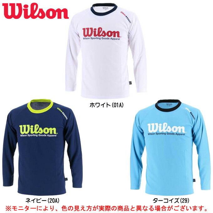 Wilson(ウィルソン)ジュニア 長袖Tシャツ(WX5714)(スポーツ/長袖/Tシャツ/子供用/ジュニア/キッズ)