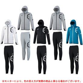 ASICS(アシックス)トレーニングフーデッドジャケット パンツ 上下セット(XAT302/XAT402)(スポーツ/トレーニング/ウェア/ランニング/薄手/男性用/メンズ)