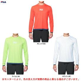FILA(フィラ)ロングスリーブTシャツ(447320)(スポーツ/トレーニング/フィットネス/ウェア/吸水速乾/男性用/メンズ)