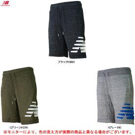 new balance(ニューバランス)ヘザーショーツ ショートパンツ(AMS81536)(スポーツ/ウェア/ランニング/フィットネス/パンツ/男性用/メンズ)