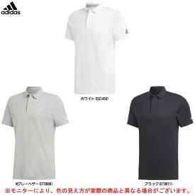 adidas(アディダス)M MUSTHAVES ベーシック ボタンダウンポロシャツ(FSD56)(スポーツ/トレーニング/カジュアル/半袖/男性用/メンズ)