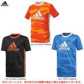 adidas(アディダス)BTRNBOSグラフィックジュニアTシャツ(FTK16)(スポーツ/トレーニング/カジュアル/半袖/シャツ/子供用/キッズ/ジュニア)