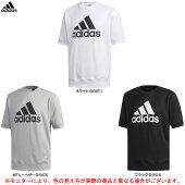adidas(アディダス)MMUSTHAVESBADGEOFSPORTSライトクルーネック半袖スウェット(FTL48)(スポーツ/トレーニング/ランニング/半袖/Tシャツ/男性用/メンズ)