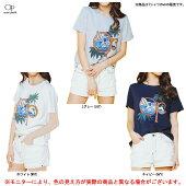 OceanPacific(オーシャンパシフィック)OP半袖Tシャツ(527517)(スポーツ/トレーニング/フィットネス/カジュアル/レジャー/サーフ/マリンスポーツ/女性用/レディース)