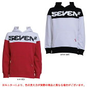 SEVEN2(セブンツー)スウェットパーカー(508910)(スポーツ/トレーニング/カジュアル/フードあり/長袖/ウェア/小学生/子供用/キッズ/ジュニア)
