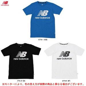 new balance(ニューバランス)NBロゴ ショートスリーブ Tシャツ(JJTP0314)(スポーツ/トレーニング/フィットネス/半袖/シャツ/ウェア/カジュアル/子供用/ジュニア/キッズ)