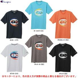 Champion(チャンピオン)C VAPOR(R) Tシャツ(C3TS311)(スポーツ/バスケットボール/バスケ/フィットネス/トレーニング/ランニング/ジム/ウェア/半袖/男性用/メンズ)