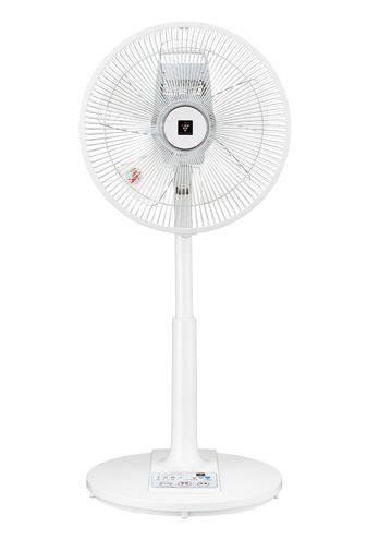 【あす楽対応】シャープ プラズマクラスター扇風機PJ-G3AS-W PJG3ASW ホワイト系5枚羽根 風量3段階シンプルで使いやすいリビング扇風機ACモーター リモコン付き