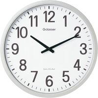 【あす楽】これはでかい!直径50センチの大型電波掛時計ザラージGDK-001キングジム掛け時計Gクラッセ視認性抜群の壁掛け時計地域別送料