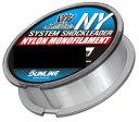 【サンライン】ソルティメイト システムショックリーダー NYLB:60lb参考号柄:1450m【4968813539345】