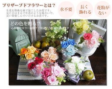 結婚のお祝いや記念日にメッセージ付きのお花ギフト