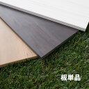 目隠しフェンス オプション W2000用板 単品 標準色 [120×1995mm] 樹脂製 ガーデン DIY おしゃれ 長持ち