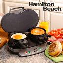 ハミルトン ビーチ Hamilton Beach 25490A デュアル ブレイクファスト サンドイッチ メーカー Dual Breakfast Sandwic...