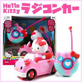ハローキティ ラジコンカー カーラジコン くるま 自動車 おもちゃ ラジコン RCカー Jada Toys Hello Kitty RC 送料無料 【並行輸入品】