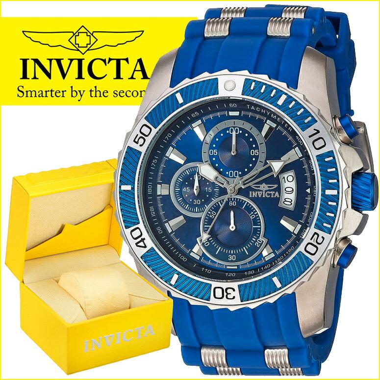 インビクタ Invicta インヴィクタ 男性用 腕時計 メンズ ウォッチ プロダイバーコレクション Pro Diver Collection ブルー 22429 送料無料