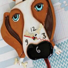 バックリードッグ 振り子時計 アレン デザイン 振り子時計 Allen Designs Buckley Dog Clock 動物 犬 骨 置き時計 掛け時計 P1160 ミシェルアレン ミシェル・アレン アレン・デザイン ALLEN DESIGNS 時計 送料無料 【並行輸入品】