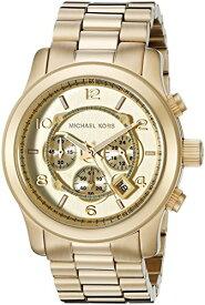 マイケルコース Michael Kors 男性用 腕時計 メンズ ウォッチ ゴールド MK8077 プレゼント おしゃれ かわいい 【並行輸入品】
