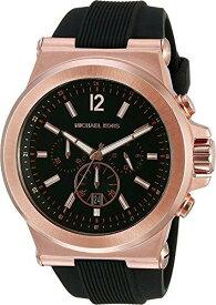 マイケルコース Michael Kors 男性用 腕時計 メンズ ウォッチ クロノグラフ ブラック MK8184 プレゼント おしゃれ かわいい 送料無料 【並行輸入品】