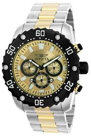 インビクタ Invicta インヴィクタ 男性用 腕時計 メンズ ウォッチ プロダイバーコレクション Pro Diver Collection クロノグラフ ゴールド 22519 送料無料 【並行輸入品】