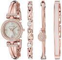 アンクライン Anne Klein 女性用 腕時計 レディース ウォッチ ピンク AK/2238RGST 女性らしいデザイン かわいい 送料…