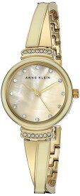 アンクライン Anne Klein 女性用 腕時計 レディース ウォッチ パール AK/2216IVGB 女性らしいデザイン かわいい 送料無料 【並行輸入品】