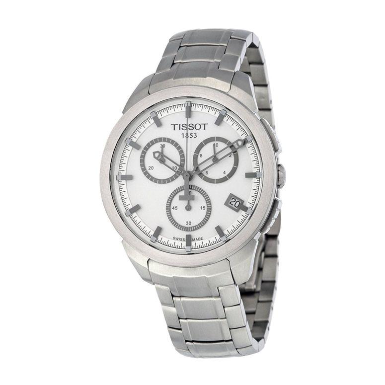 ティソ Tissot 男性用 腕時計 メンズ ウォッチ クロノグラフ シルバー t0694174403100 送料無料 【並行輸入品】