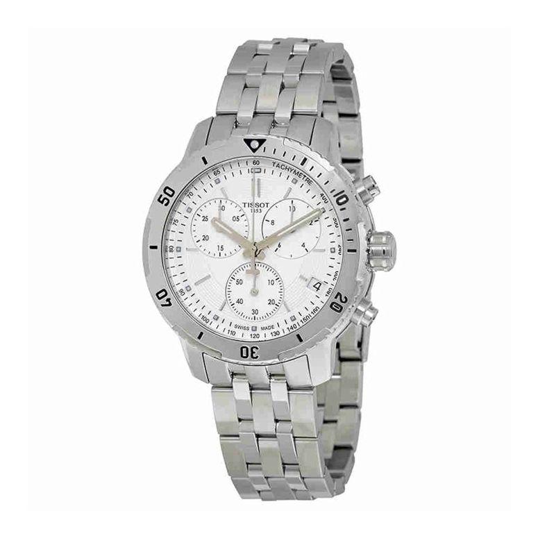 ティソ Tissot 男性用 腕時計 メンズ ウォッチ クロノグラフ シルバー T067.417.11.031.01 送料無料 【並行輸入品】