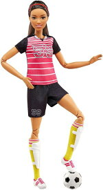 Barbie バービー Careers Made to Move Soccer Player doll 人形 送料無料 【並行輸入品】