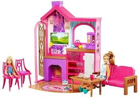 Barbie バービー Camping Fun Cabin Set 送料無料 【並行輸入品】